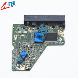 Conductive Thermal gap filler For LED street lamp 4 W/M-K blue thermal conductive pad TIF100-40-12E with 35 shore00